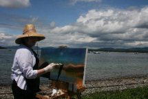 Painting On Location ME