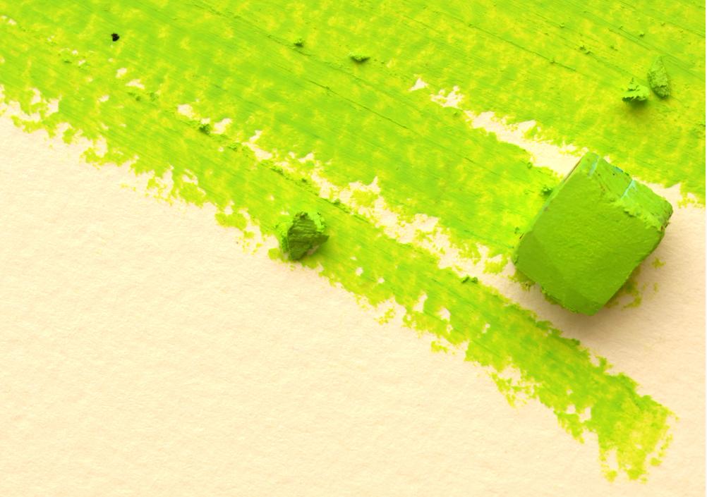 Closeup of a Pastel & Pastel Strokes