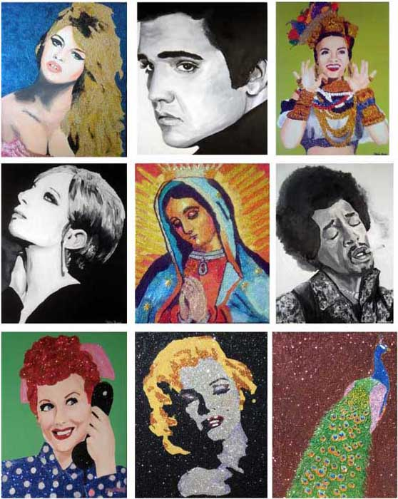 Claire Casseb Art - San Antonio Charcoal Artist