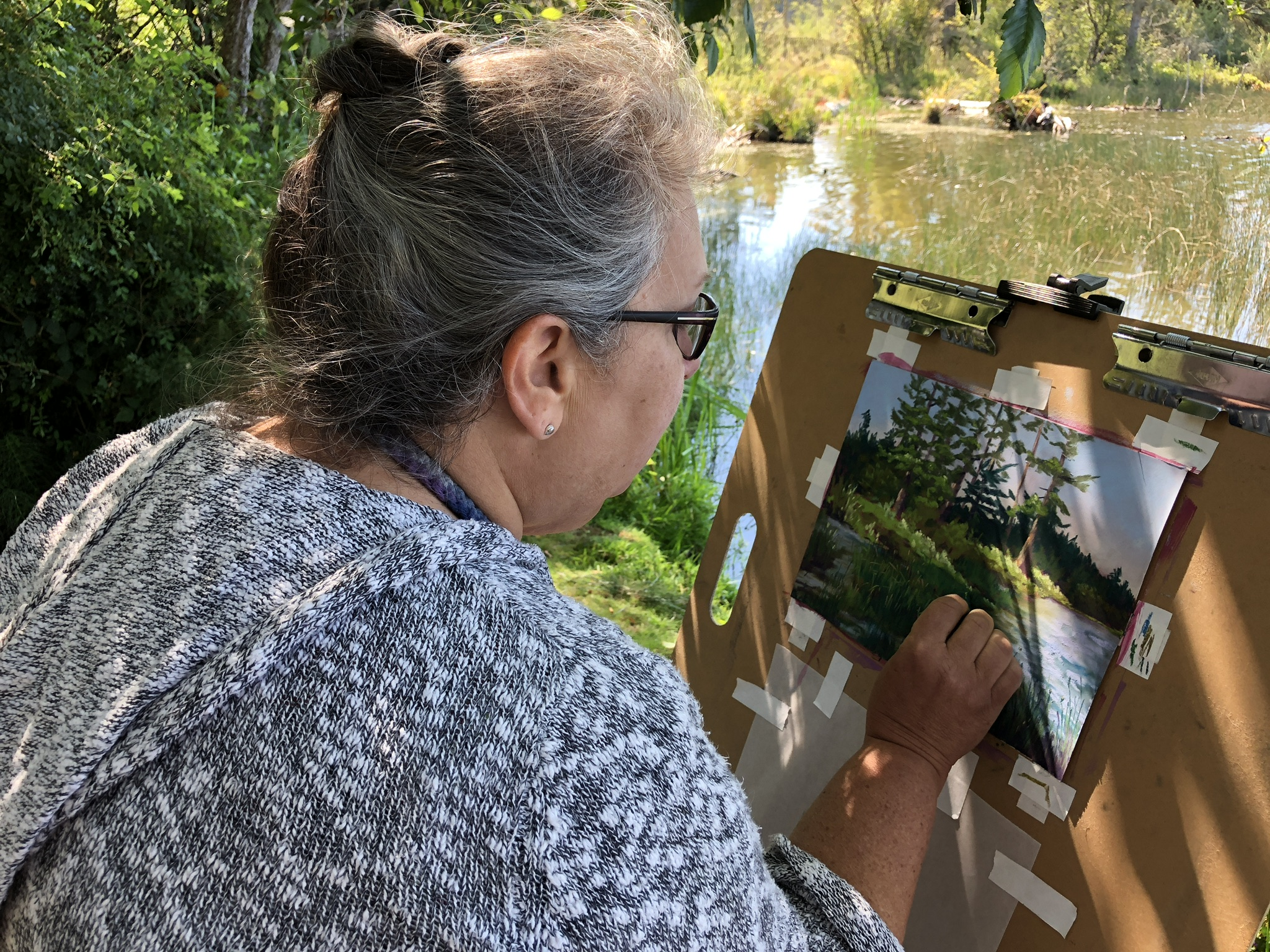 Plein air on Whidbey Island