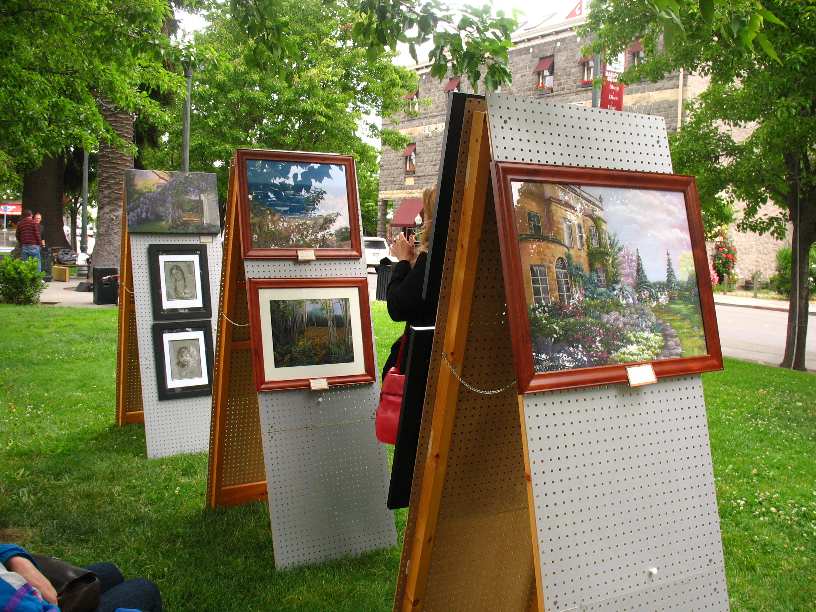 Art Show Railroad Square 2