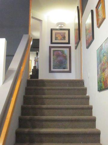 Debbie Harding paintings in the Ventana Gallery