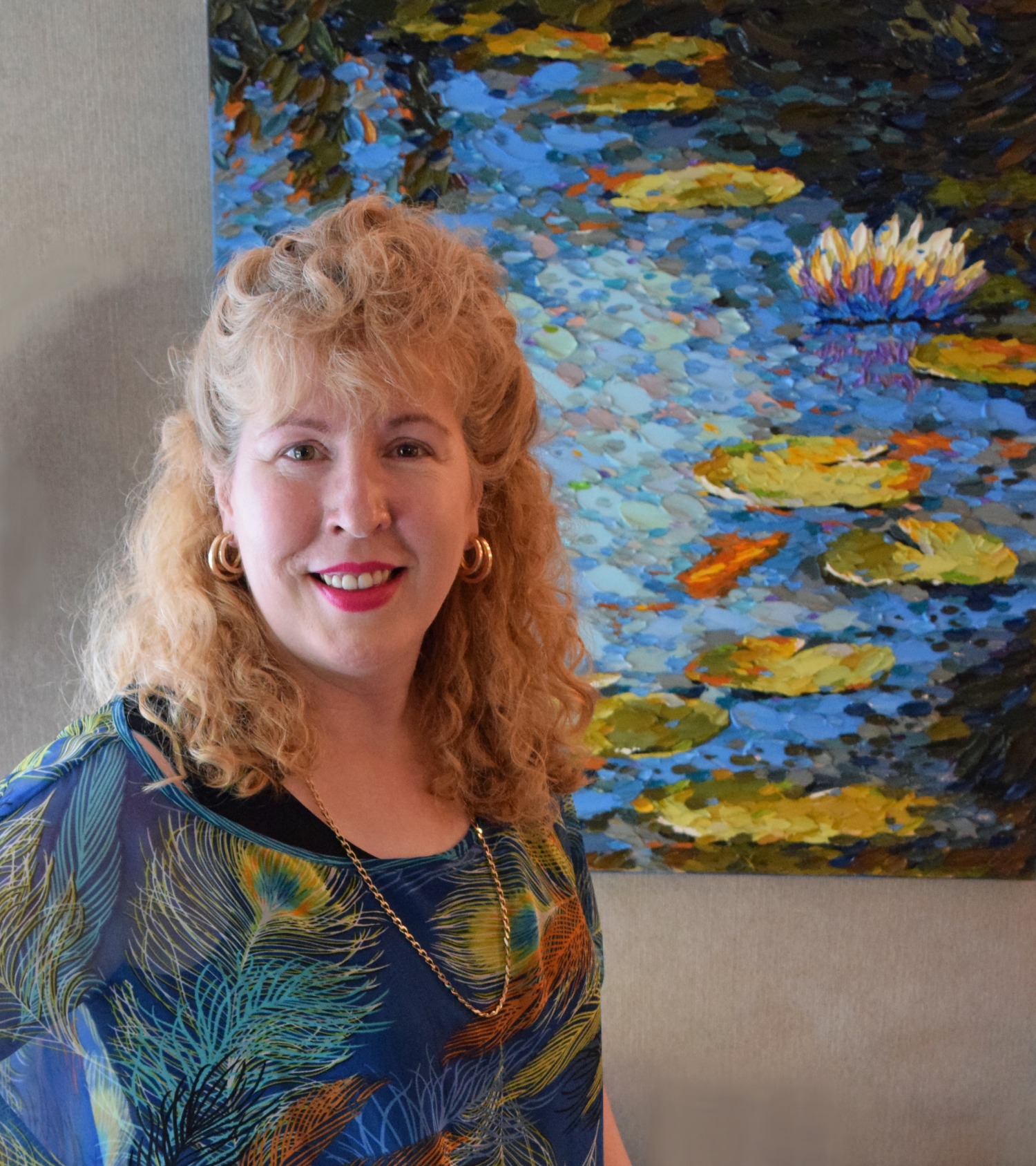 Madison Artist Angela Richardsons Face >> Artists Info Dena Tollefson Canyon Road Contemporary Art