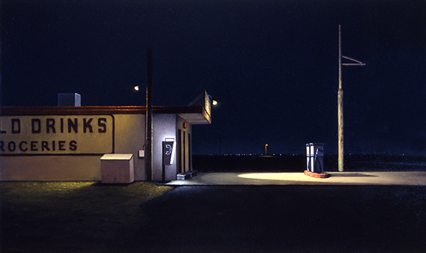 Night And Day Landscape Paintings By David Hines