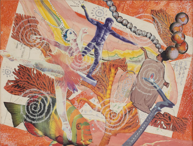 Collage three of Poseidon Tryptich