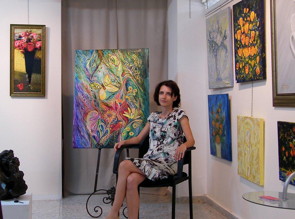 Elena Kotliarker Judaica fine art