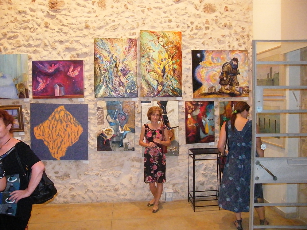 White Nights exposition, judaica fine artist Elena Kotliarker