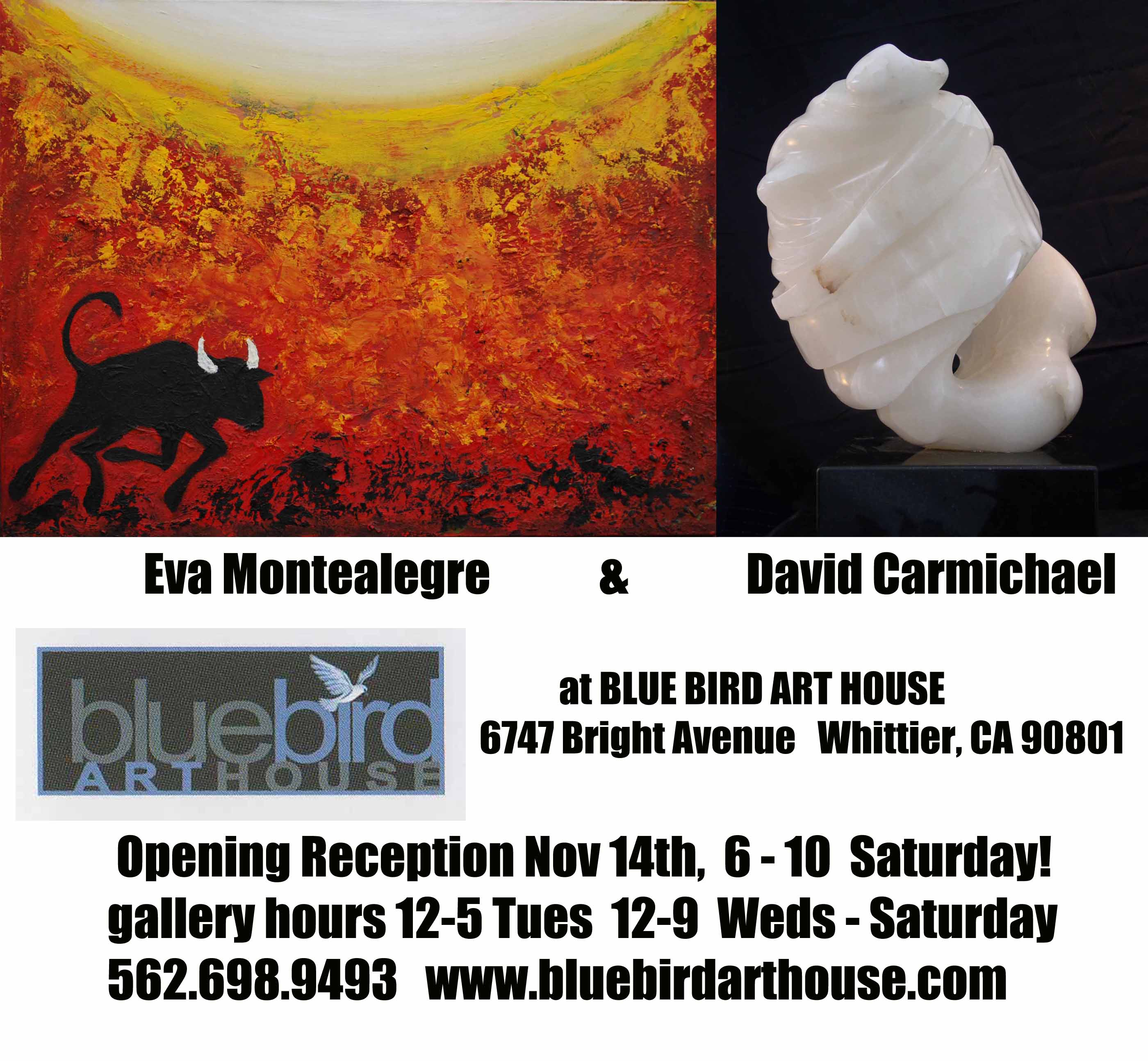 Blue Bird Art House announcement