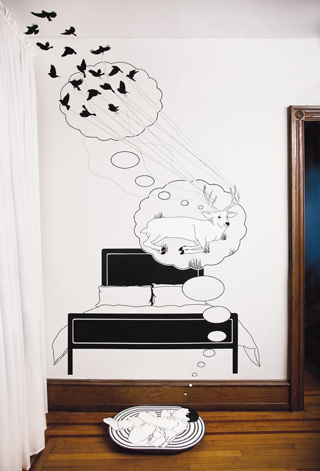 Site-specific installation / mural