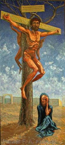 Floyd Alsbach, Stuckist Painter