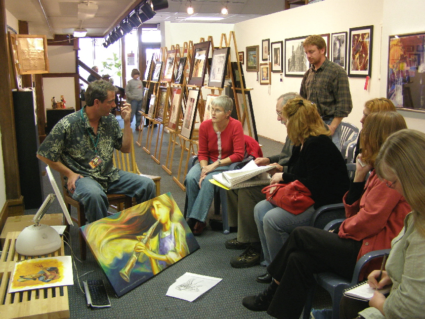 Art as a business discussed
