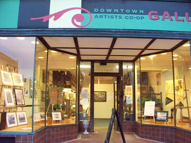 Front of Downtown Artist Cooperative