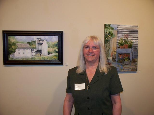 Gail and Favorite Paintings
