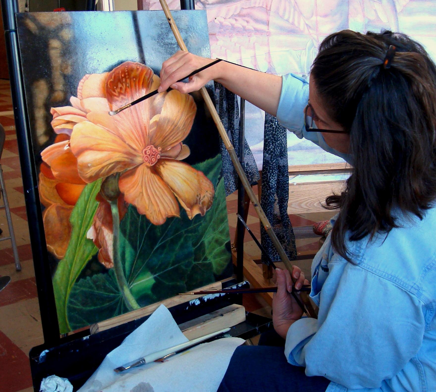 Gloria E. Moses Studio Work