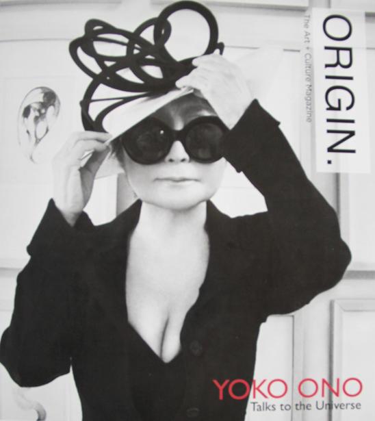 Origin Magazine feat. Yoko Ono