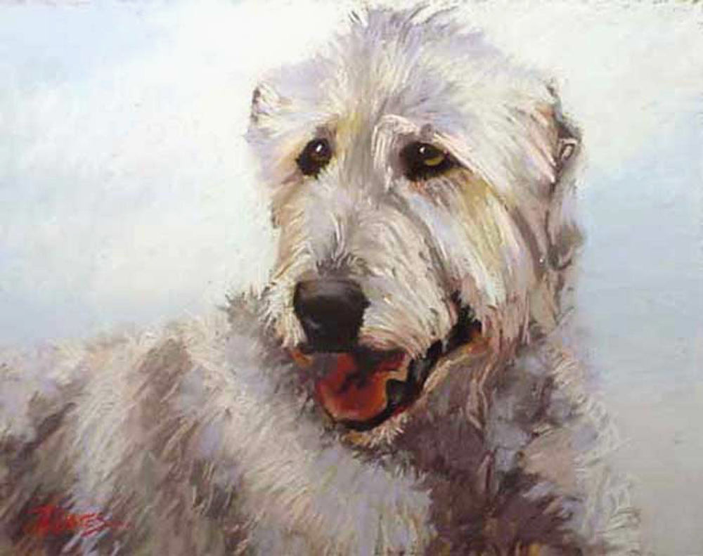 Irish Wolfhounds in art