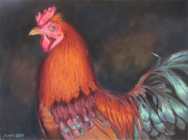 Rooster art