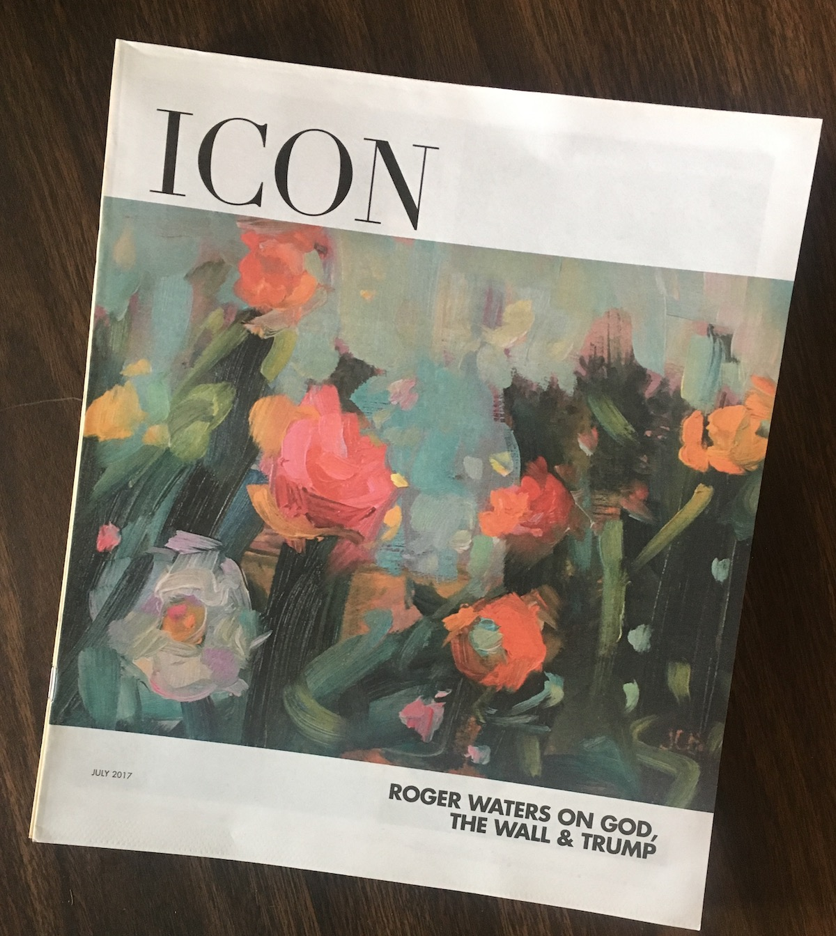 Cover of Icon Magazine