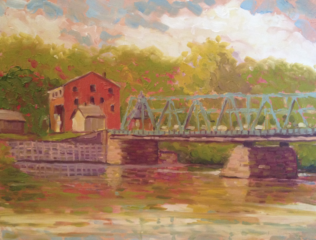 New Hope Lambertville Bridge