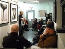 Gallery Talk, courtesy of the Griffin Museum