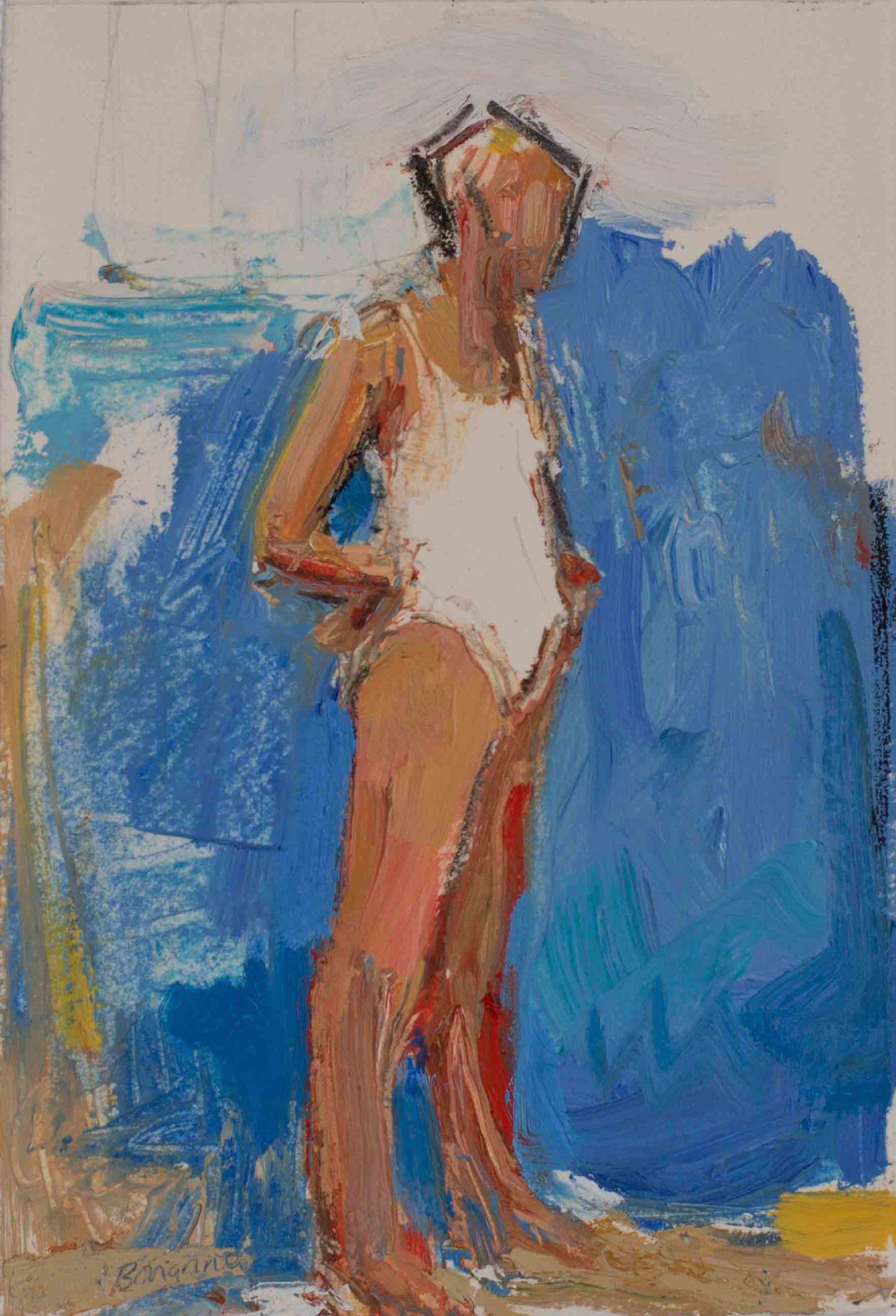Contemporary Figurative Painting By Karen Bonanno