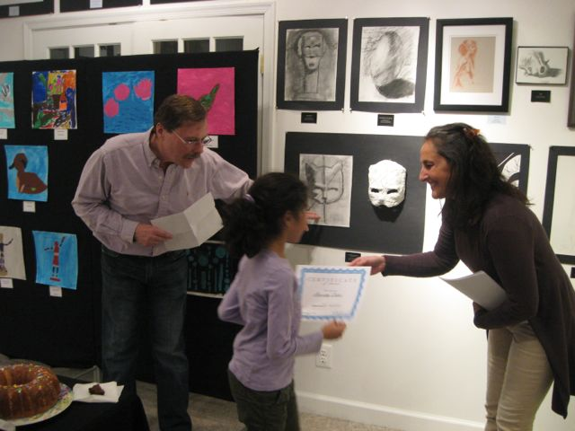 Amrita Sahu Receiving Honorable Mention in the Youth Category