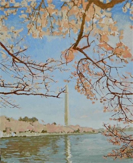 """Cherry Blossoms on the Tidal Basin"" day 03"