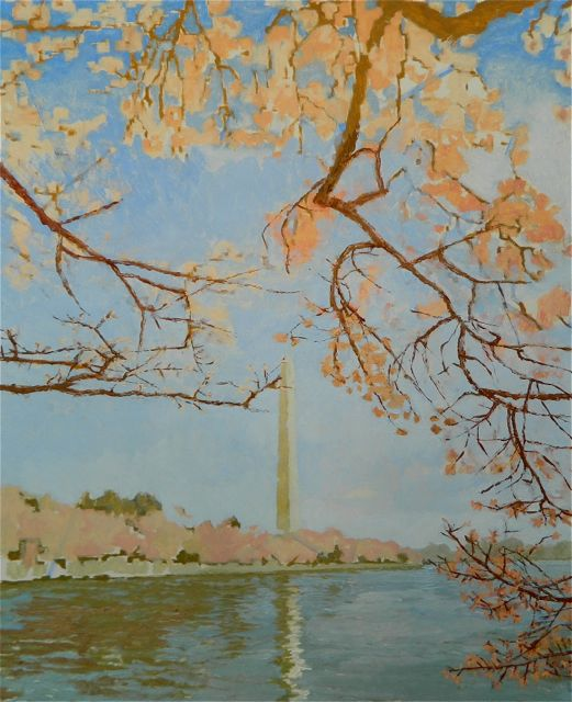 """Cherry Blossoms at the Tidal Basin"" day two"