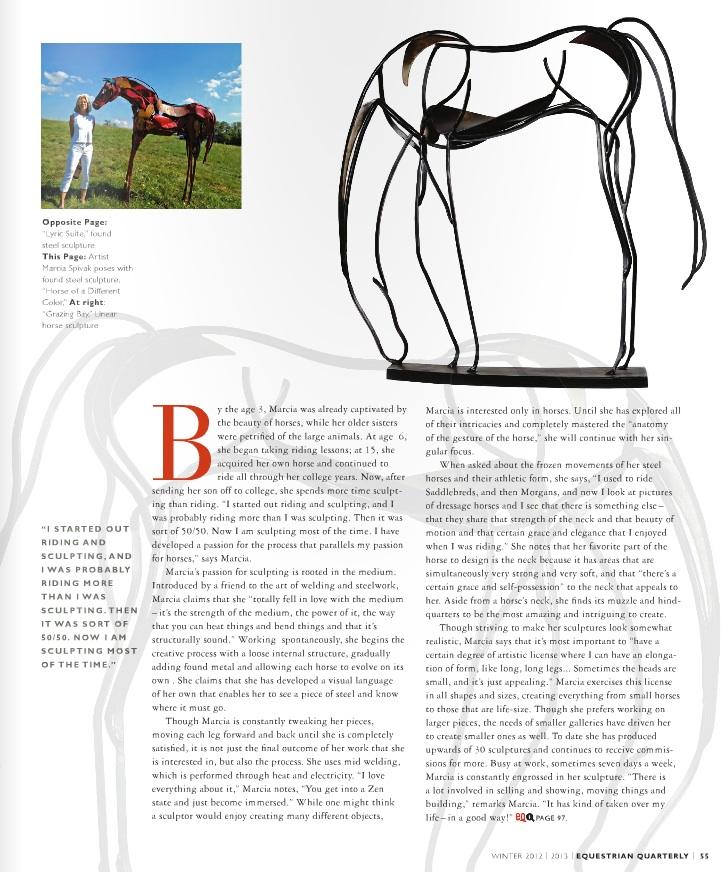 Equestrian Quarterly  Fall 2012