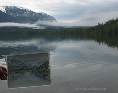 En plein air, Lake McDonald, Glacier National park