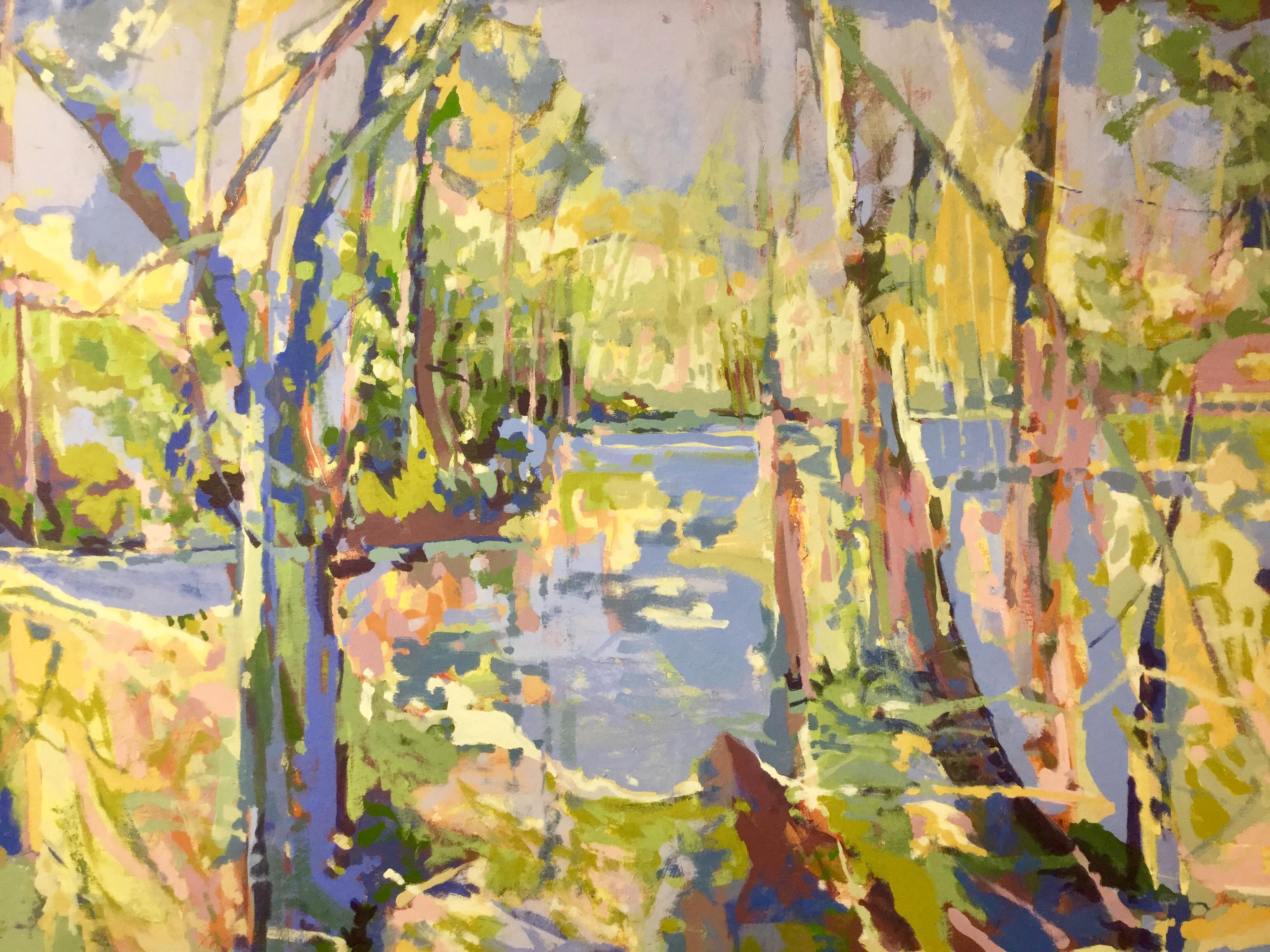 Springtime I, oil on canvas