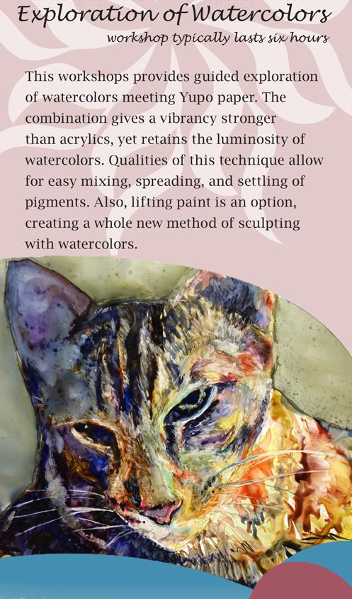 Exploration of Watercolor