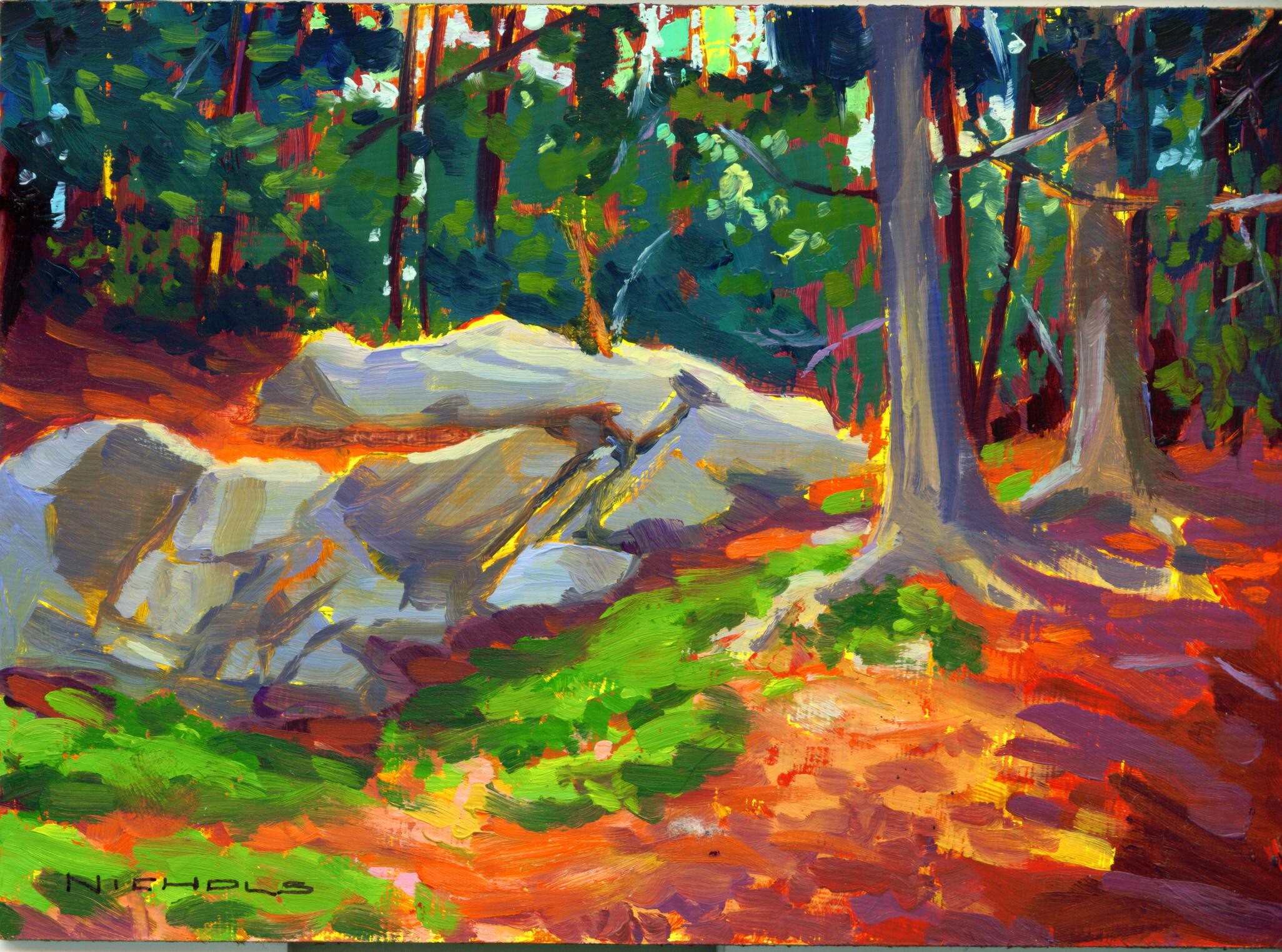 Woods Scene, Acadia
