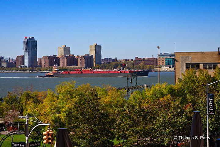 The High Line Hudson View