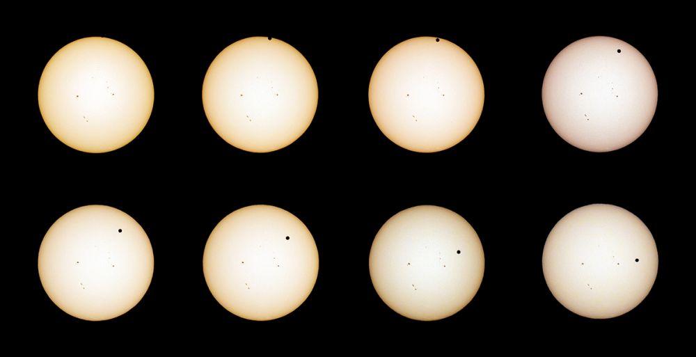 Venus Transit Composite