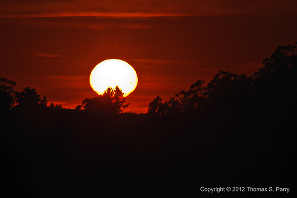 Transit of Venus Sunset-1