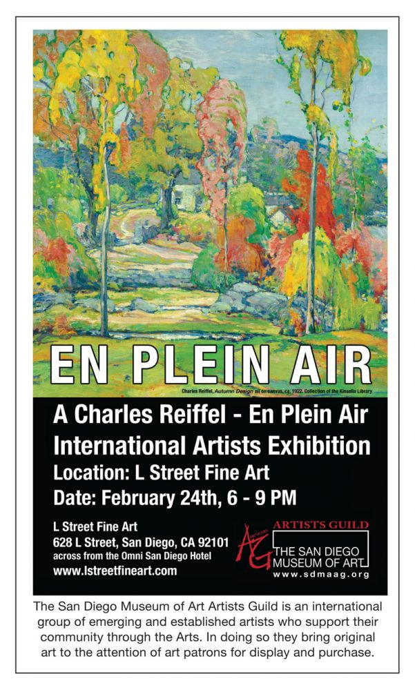 SDMAAG En Plein Air Exhibition at L Street Fine Art