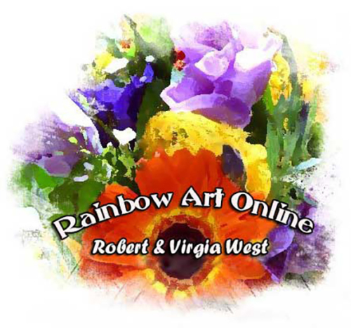 Rainbow Art--Virgia and Robert West
