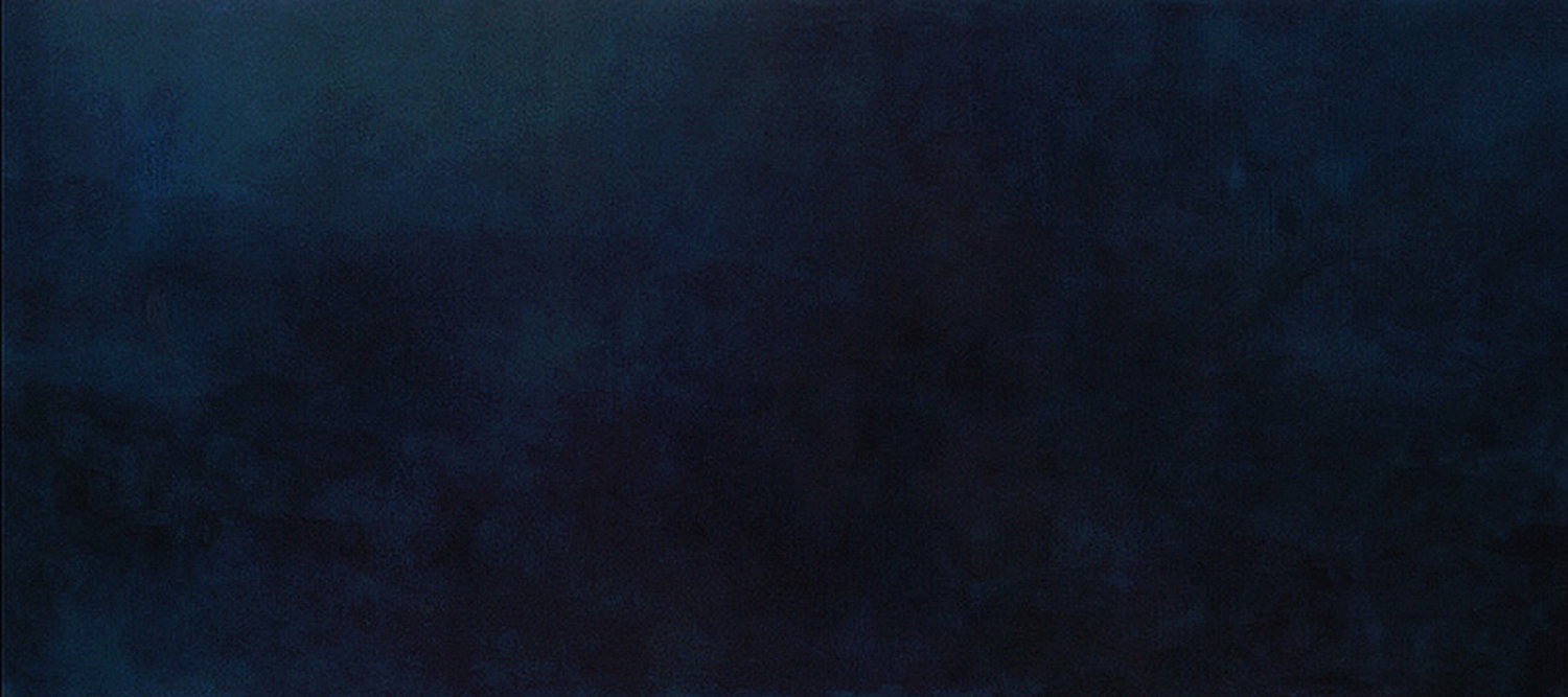 i concentrate on you - 90 x 200 cm - acrylic on canvas - 2005