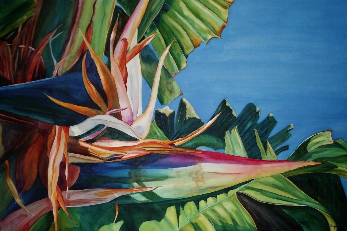 Watercolor on Aquabord