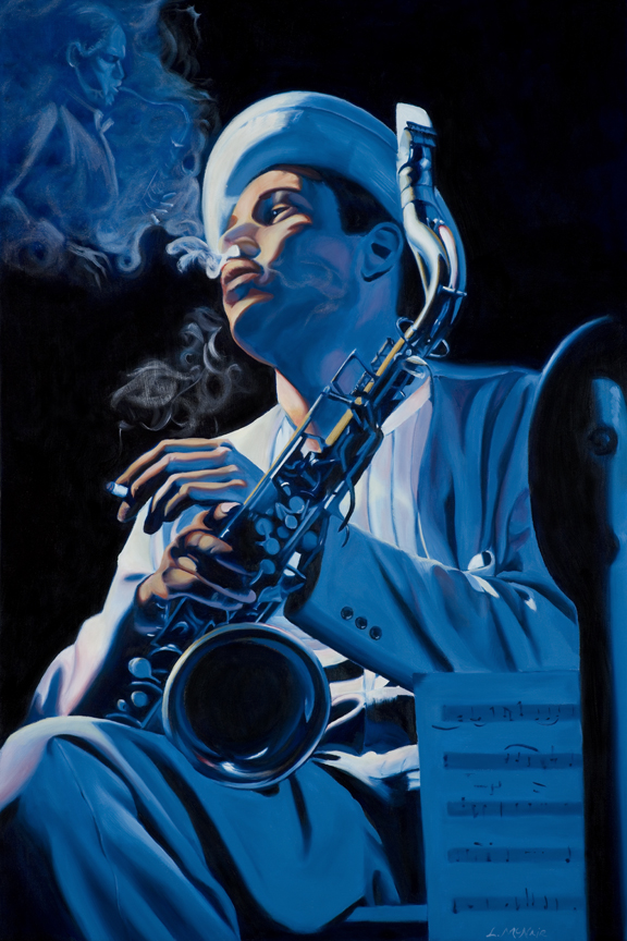 Portrait of Dexter Gordon, Jazz Series
