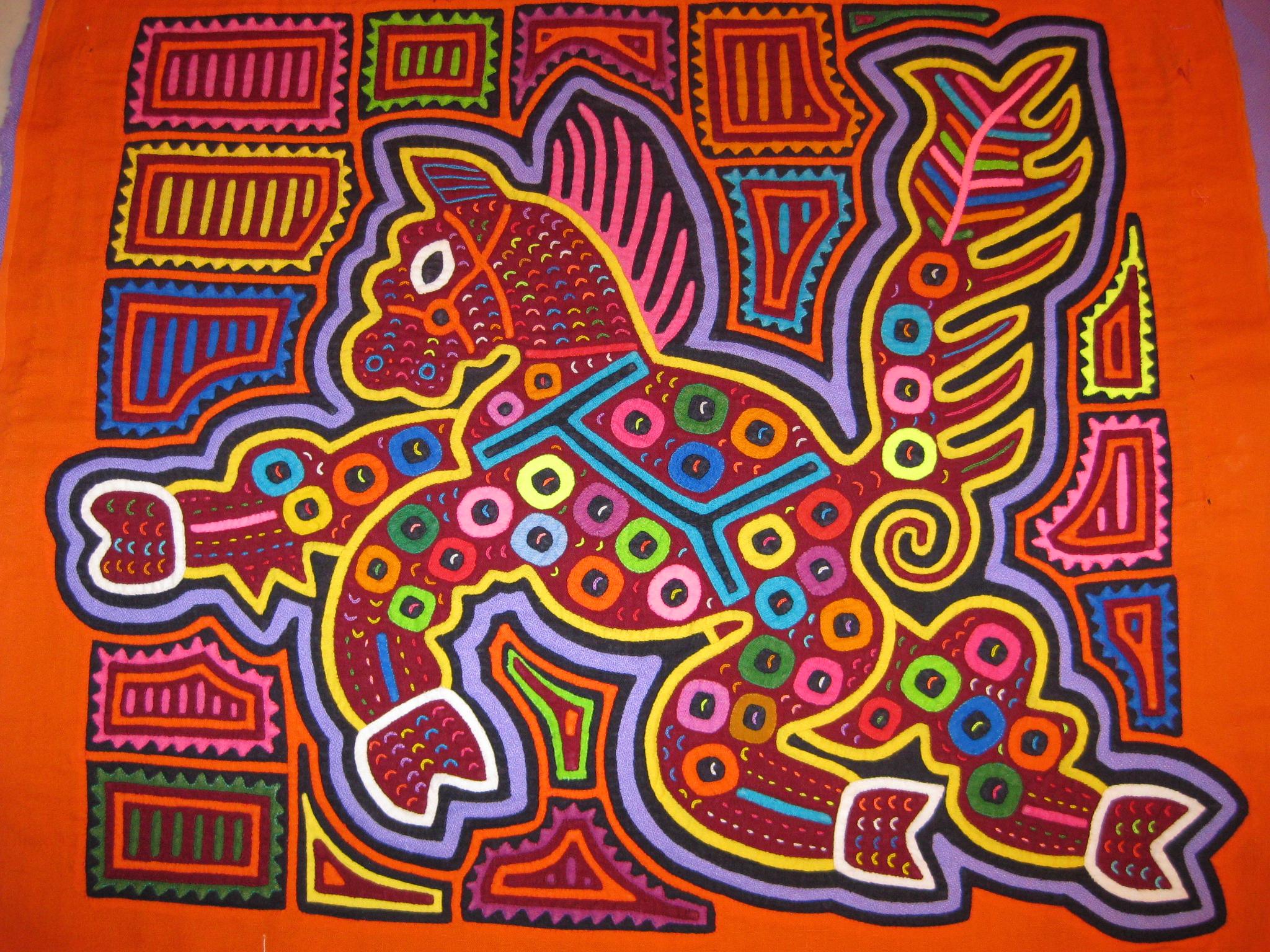 Rita Smith Mola Art of the Kuna Indians of San Blas Molas