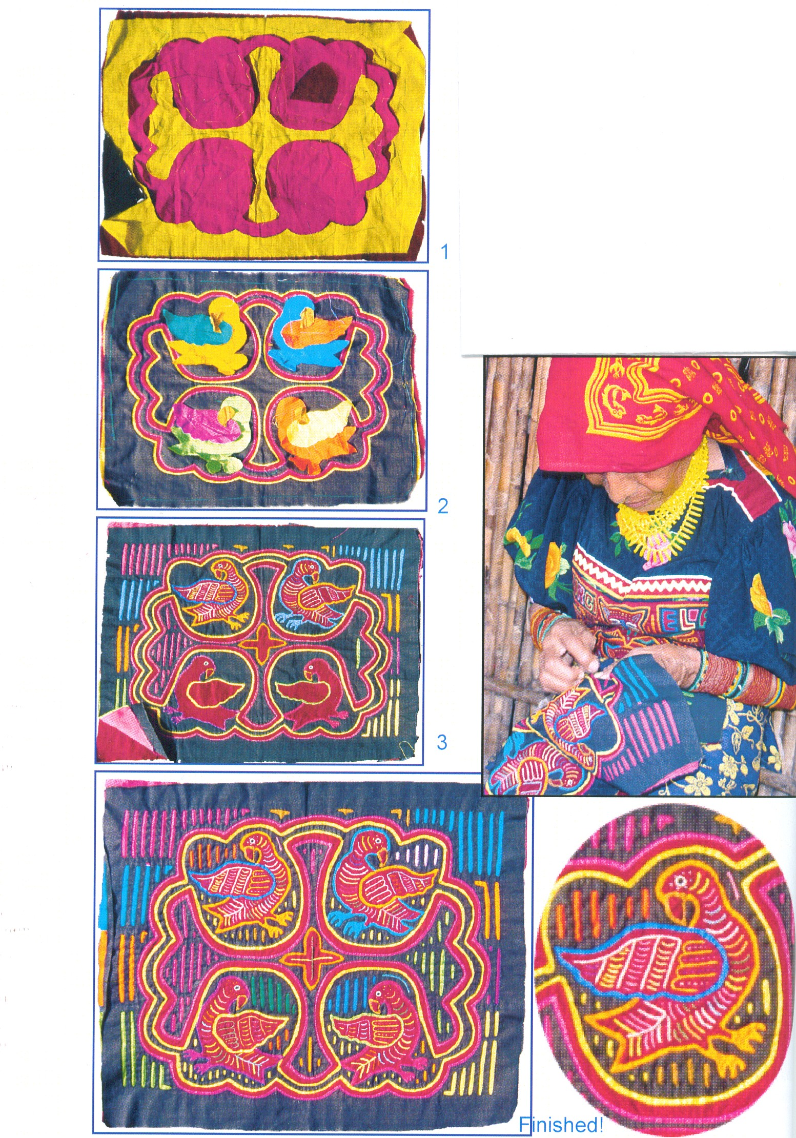 How molas are made