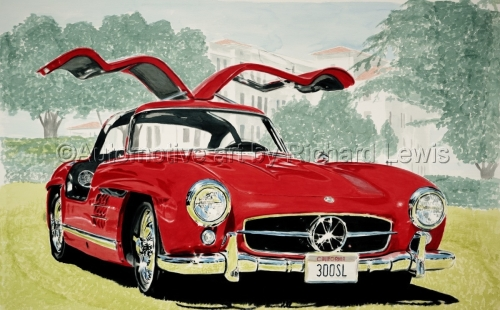 Automotive art by Richard Lewis