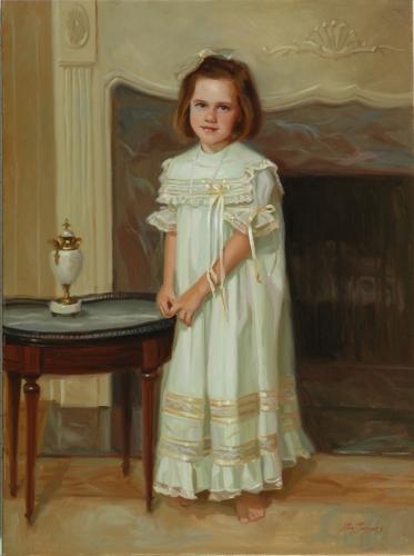 Ronald Bayens  fine portraits in oil