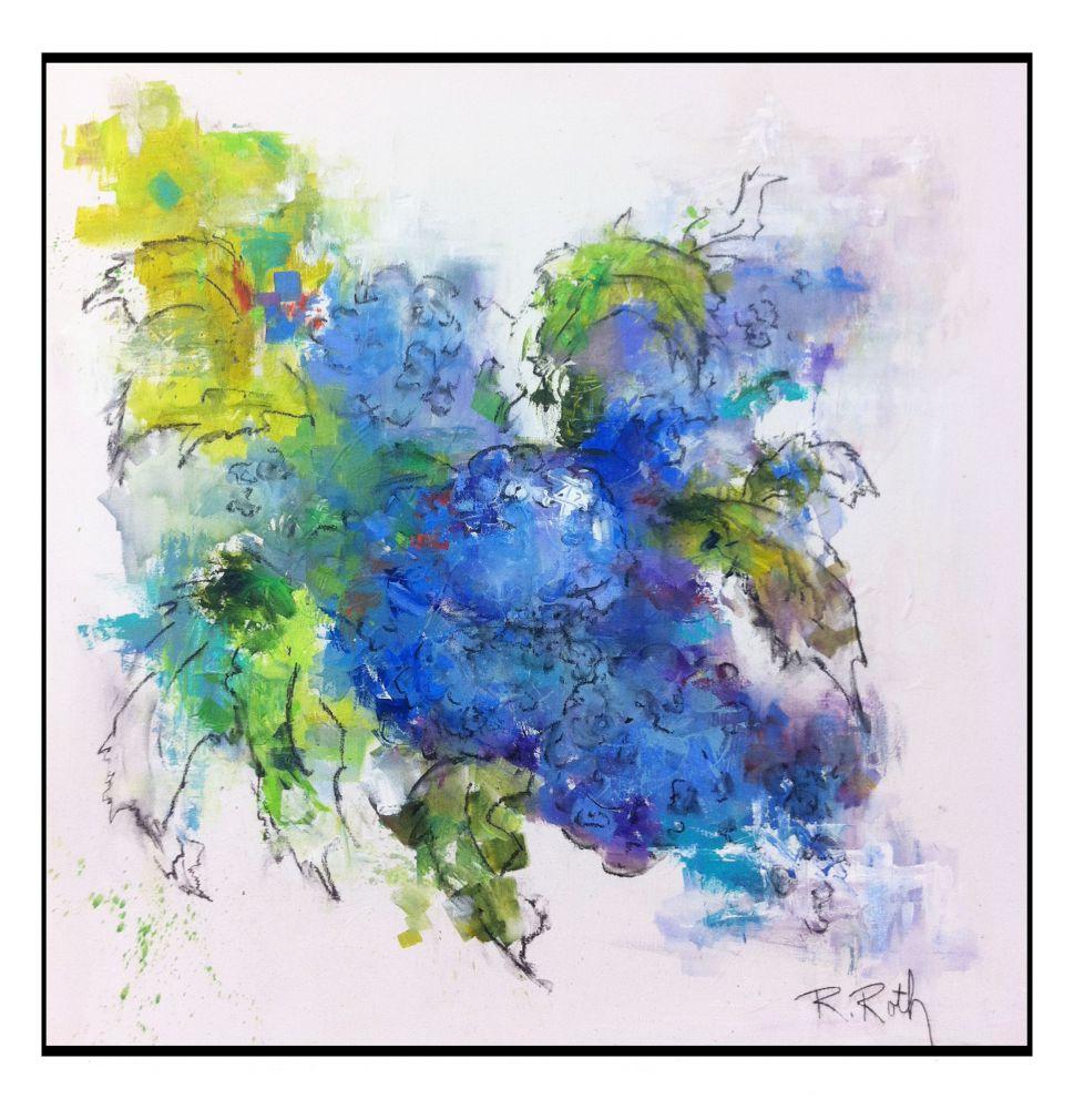 Hydrangeas by Rosi Roth