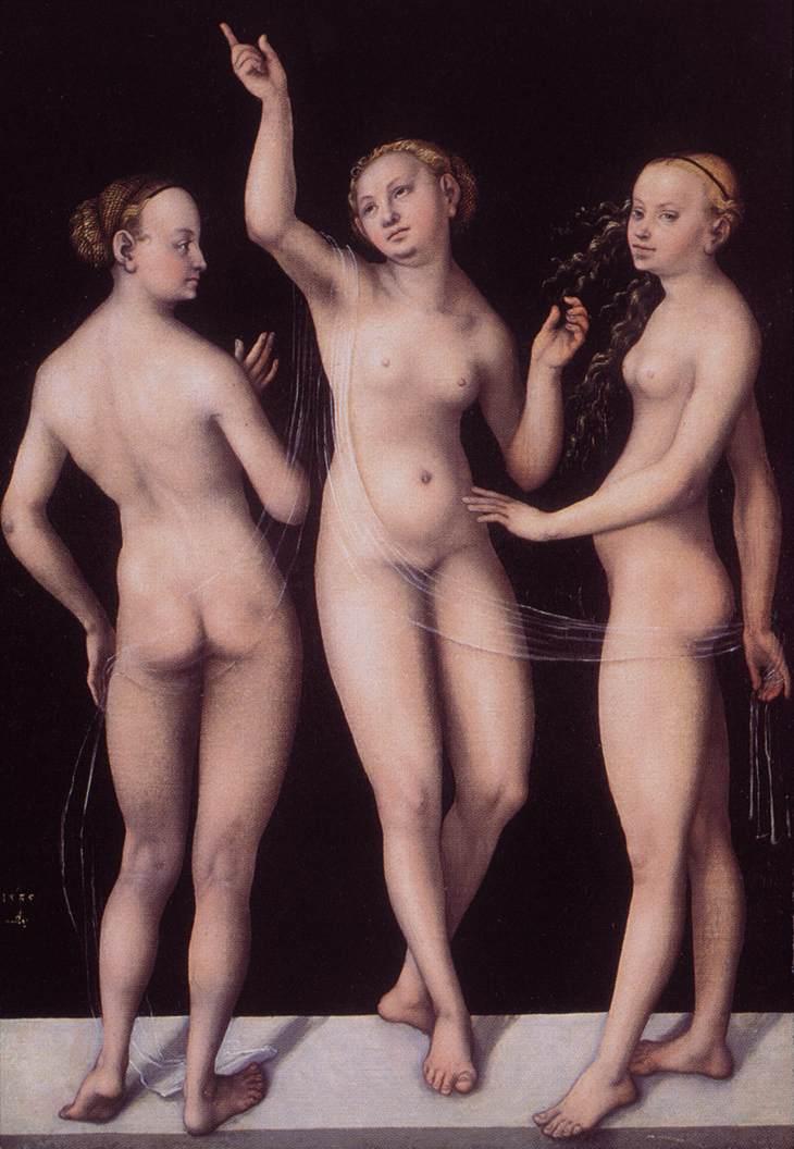 renaissance nudes luca cranach