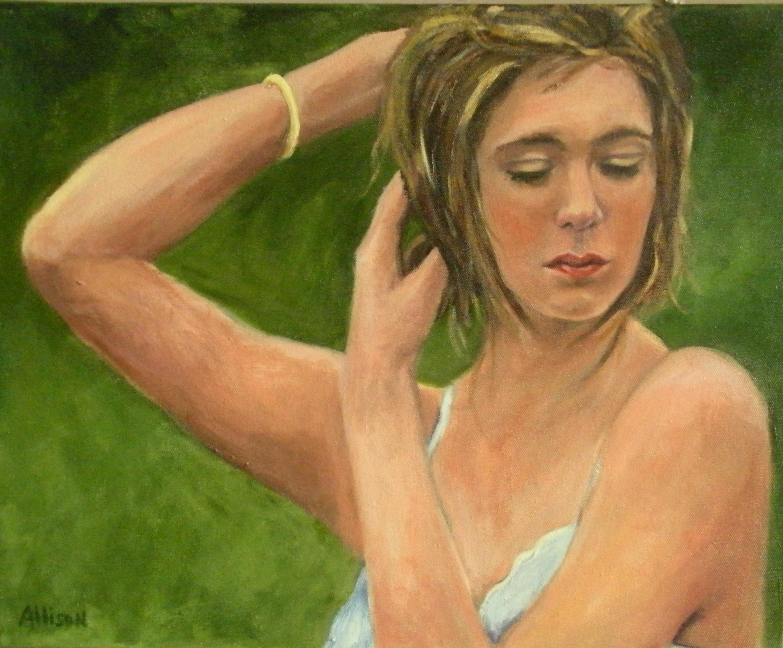Portrait, acrylics, commission