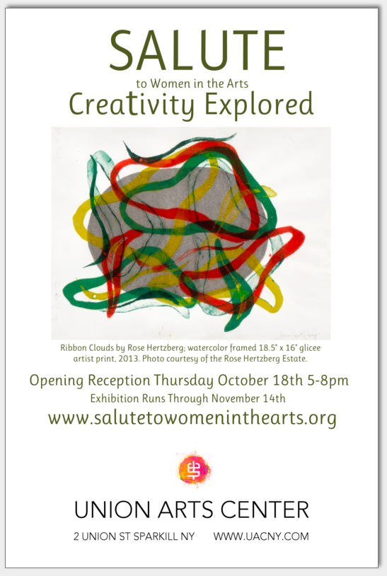 CREATIVITY EXPLORED INVITE