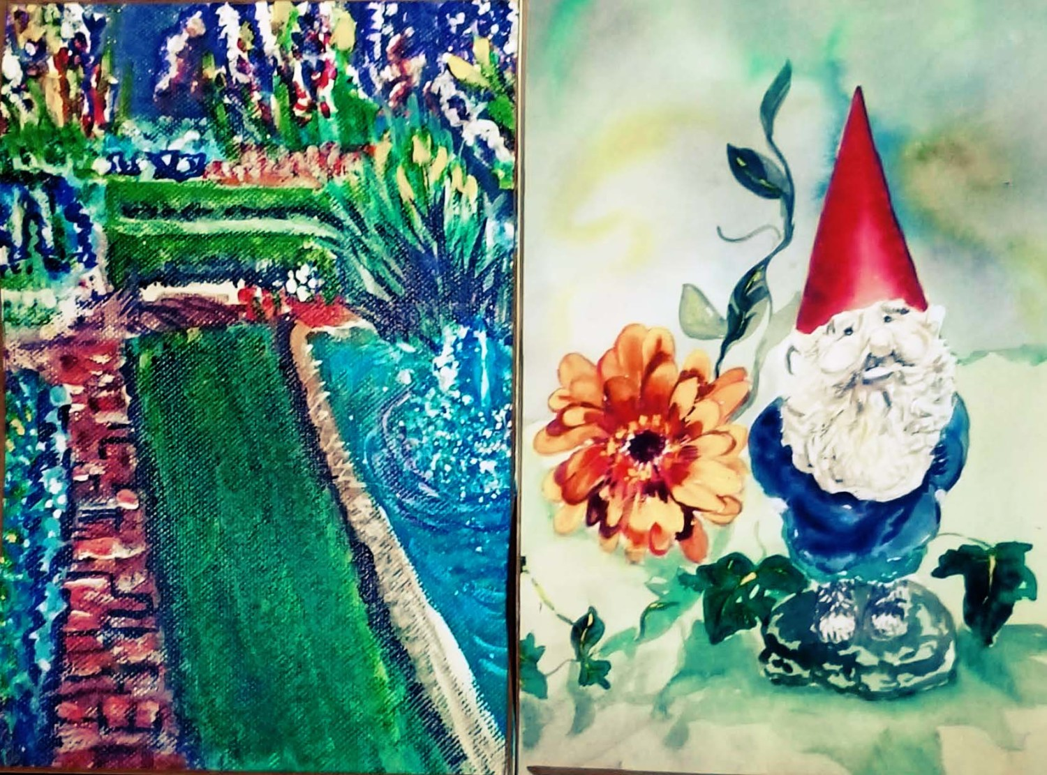 My two  artworks in CV 19th Annual Art Show